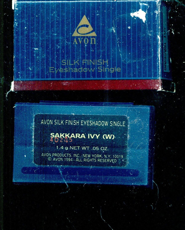 Avon Silk Finish eyeshadow single- Sakkara Ivy- NOS