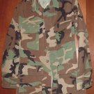 BDU's Woodland Camo Shirt- X- Small--Regular (# 45)