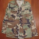 BDU's Woodland Camo Shirt-  Small- Long (# 43)