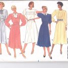Butterick pattern 3412 Misses Dress & Cummerbund  Size 8