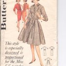 "Butterick pattern 9859 Tailored shirtdress for Misses 5'3"" & under  Size 12"
