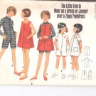 Butterick pattern 4704  Girls pantdress, dress or jumper   Size 6
