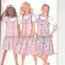 Butterick pattern 4891  Girls Jumper & Top    Size 12-14