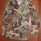 BDU's Woodland Camo Shirt- X- Small--Short (# 59)