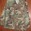 BDU's Woodland Camo Shirt- X- Small--Short (# 57)