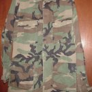 BDU's Woodland Camo Shirt-  Small- Long (# 55)