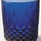 Avon Royal Sapphire Tumblers-- set of 4