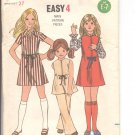 Butterick pattern  6294- Childrens & Girls Dress Or Jumper & Pants-  Size 8