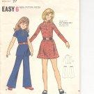 Butterick pattern  6787.- Girls  Dress & Pants-  Size 8