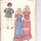 Butterick pattern  6458.- Childrens & Girls Dress   Size 8