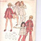 Butterick pattern  6521.- Childrens & Girls Dress, pants & Shorts-   Size 8G