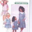 Butterick pattern  6619.- Childrens /Girls Jumper & Top   Size 7-8-10