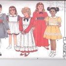 Butterick pattern  3442.- Childrens Dress & Pinafore   Size 2-3-4.