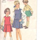 Simplicity pattern 8311  Childs , Girls  chubbies jumper, skirt, blouse   Size 6
