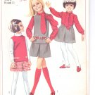 Simplicity pattern 7888  Childs and girls blouse, Skirt and top   Size 6