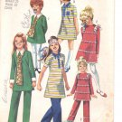 Simplicity pattern 8991  Childs and girls Dress and pants  Size 6