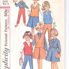 Simplicity pattern 5640  Childs and girls Blouse, Skirt, Top and pants   Size 6