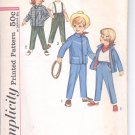 Simplicity pattern 4658  Childs Pants, Jacket and kerchief-   Size 6