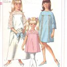 Simplicity pattern 6996  Child  and Girls  One Piece Dress in 2 lengths-  Size 6