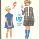 Butterick pattern 4976  Childrens and Girls One piece dress-   Size 6