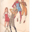 Simplicity pattern 9533  Girls Knickers and short shorts with bib   Size 7