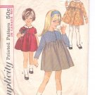 Simplicity pattern 6211  Childs  one piece dress   Size 5