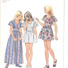 Simplicity pattern 5538   Girls dress in two lengths-   Size 8