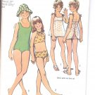 Simplicity pattern 5600   Girls set of bathing-suits-   Size 8