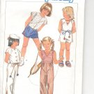 Simplicity pattern 6773  Childs Pants, shorts, top and jumpsuit-   Size 3-4-5