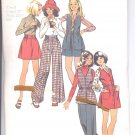 Simplicity pattern 5940 Girls jumper or vest, skirt and pants-   Size 8