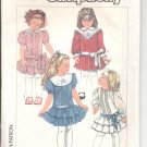 Simplicity pattern 7432  Childs  dropped waist dress-  Size 4