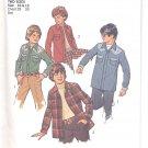 Simplicity pattern 6641  Boys unlined shirt-jacket-   Size 10-12