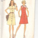 Simplicity pattern 6879   Misses  Dress in two lengths and scarf-  Size 10