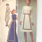 Simplicity pattern 9606   Misses  Dress in two lengths-  Size  8