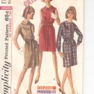 Simplicity pattern 6117   Misses and Womens one piece dress-  Size  12