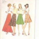 Simplicity pattern 6814   Misses front-button skirt in four lengths-  Size  8