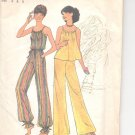 Simplicity pattern 7486   Misses  Pullover top and wide-leg pants-  Size   6-8