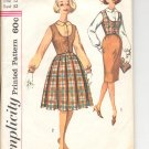 Simplicity pattern 3583  Jr. and Misses  Blouse, Weskit and two skirts-  Size 12