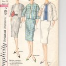 Simplicity pattern 3784   Misses Proportioned Suit-  Size 12
