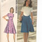 Simplicity pattern 9912   Misses  Dress-  Size  8