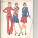 Simplicity pattern 6591   Misses Shirt-jacket, top, skirt and pants-  Size 8