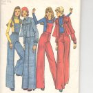 Simplicity pattern 6669  Misses  Jacket and wide leg pants -  Size 6