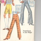 Simplicity pattern 8289 Set of pants in proporitoned sizes- Waist 24