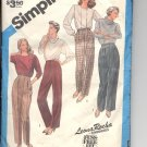 Simplicity pattern 6433   Misses   Pants and trousers -  Size  16