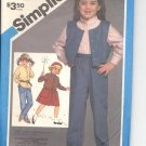 Simplicity pattern 6608  Childs  pull on pants, shirt, and vest   Size 3-4-5