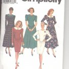 Simplicity pattern 8537  Misses /Miss Petite Dress -  Size  H (6-10)
