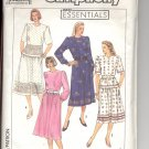 Simplicity pattern 9310  Misses /Miss Petite two-piece dress -  Size HH (6-12)