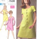 Simplicity pattern 7638  Juniors and Misses Dress and sash-  Size 7