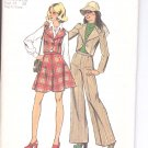 Simplicity pattern 6511  Young Jr./ Teens Jacket or vest, pants,-  Size 5-6- 7-8