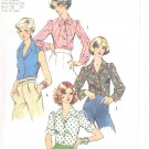Simplicity pattern 6161   Young Jr. /Teens and Misses Blouse-  Size  5/6-7/8
